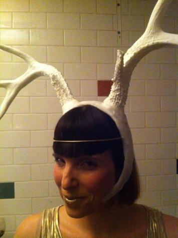 Antler headdress