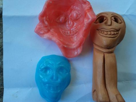 Ceramic moulds
