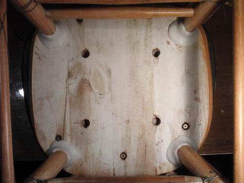 Chair repair (part 2)