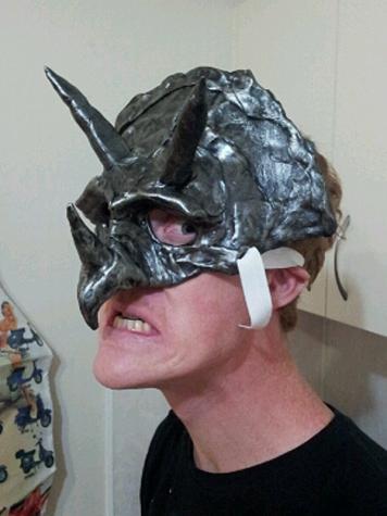 Dinosaur masquerade masks