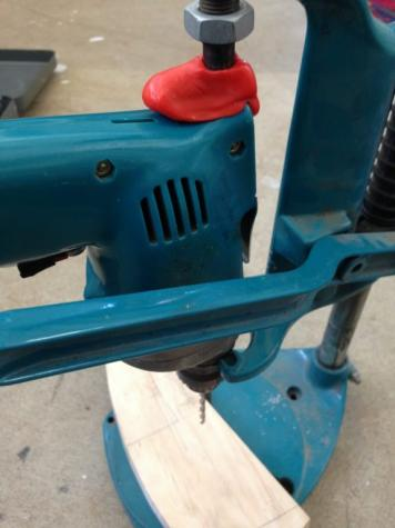 Drill press adaptor