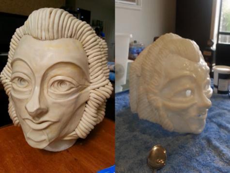 Dr Who robot mask