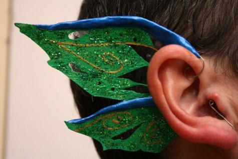 Ear wings