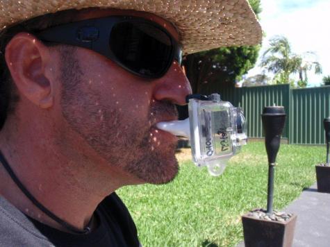 GoPro jaw mount