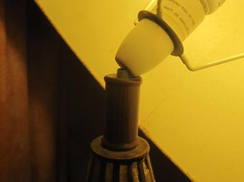 Lamp shaft repair