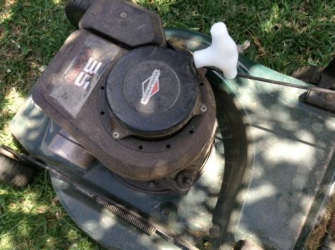 Mower handle