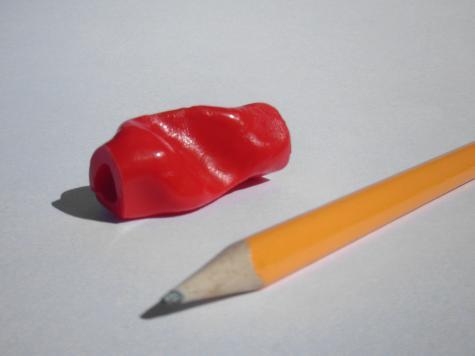 Ergonomic pencil grip