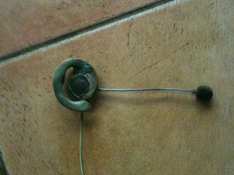 Radio headset repair