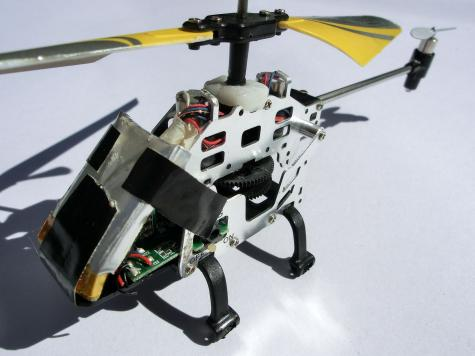 RC helicopter repair