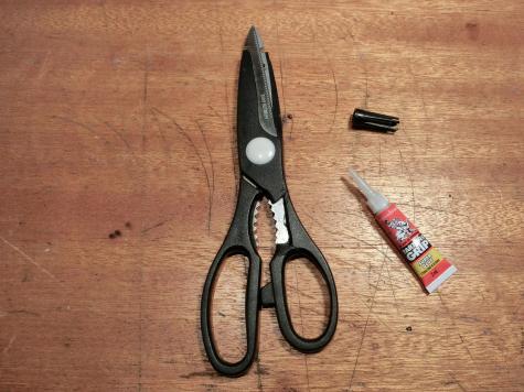 Scissor handle repair
