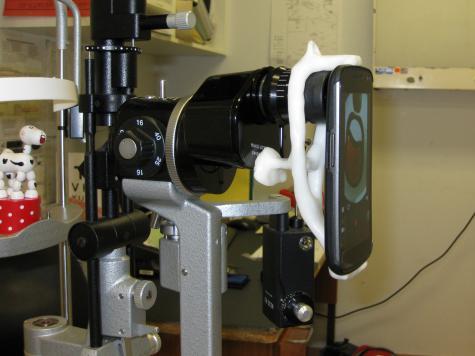 Microscope camera mount