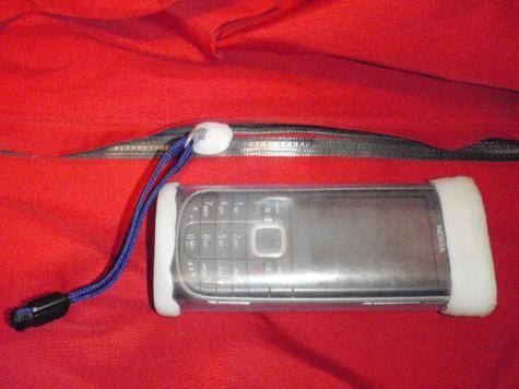 Phone case & zipper guard