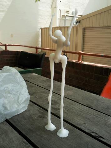 Tall figure