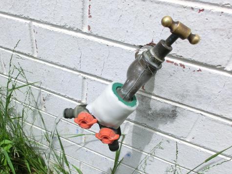 Garden tap repair