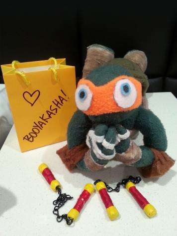 Ninja turtle toy accessories