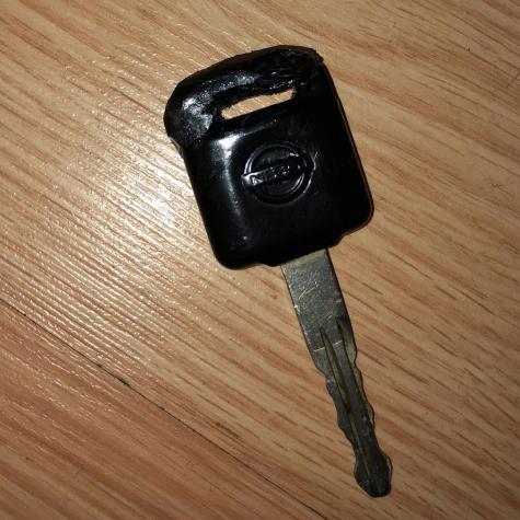 Truck key repair