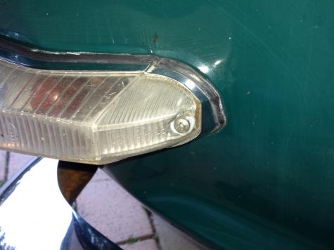 Indicator lens repair